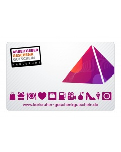 Karlsruher Arbeitgebergutschein 44,- €