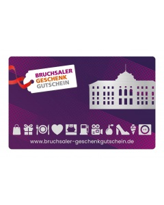 Bruchsaler Geschenkgutschein 100,- €