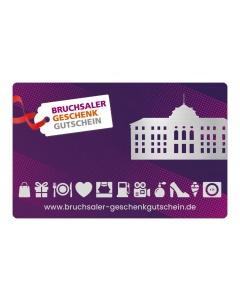Bruchsaler Geschenkgutschein 5 bis 100 € (Betrag frei wählbar)