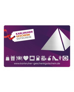 Karlsruher Geschenkgutschein 50 €