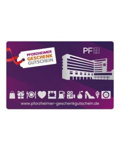 Pforzheimer Geschenkgutschein 5,- bis 100,- € (Betrag frei wählbar)